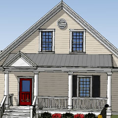 Home Plans Design Cottage Energy Efficient Affordable