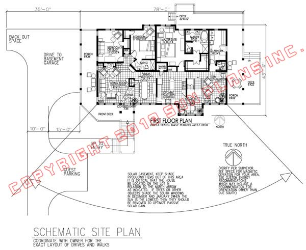 Active Solar House Plans sun plans :: equinox 3