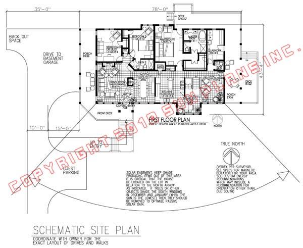 Active Solar House Plans sun plans :: equinox 3