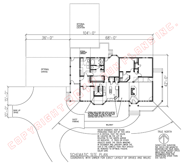 Active Solar House Plans sun plans :: equinox homestead
